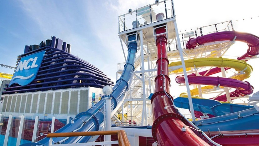 Featured image -- water park aboard an NCL ship (courtesy NCL)