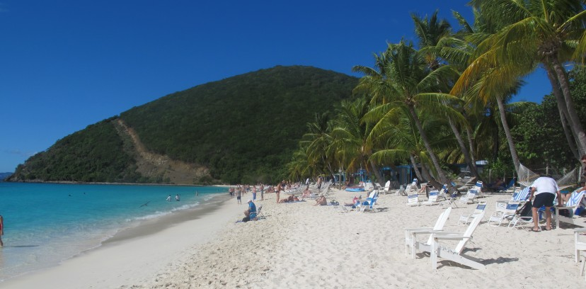 White Bay, Jost Van Dyke - home to the Soggy Dollar Bar