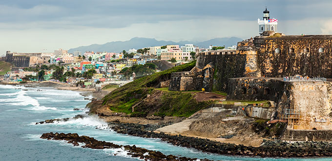 Featured image - coastline near the entrance to San Juan Bay
