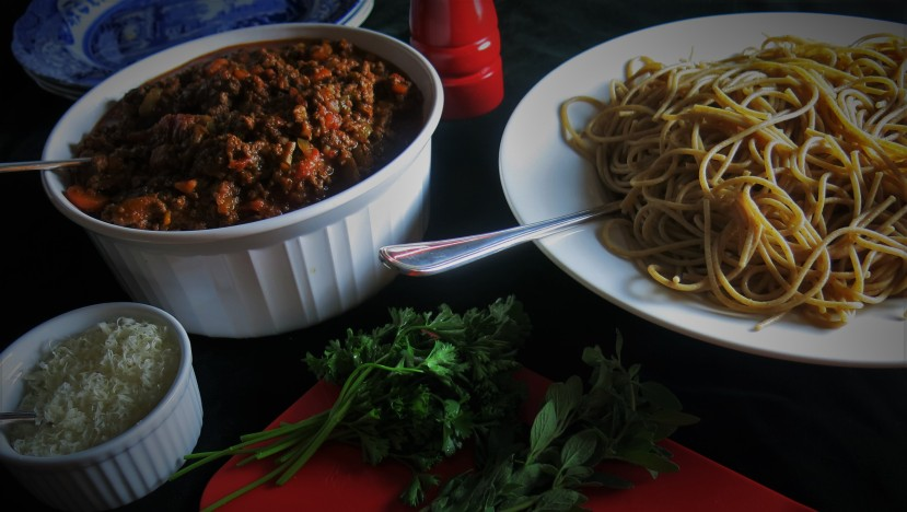 Spaghetti bolognese - my original recipe from How to Eat Well and Stay Single