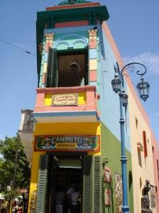 Caminito walkway in La Boca