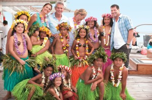 Multi-generational family cruise in French Polynesia