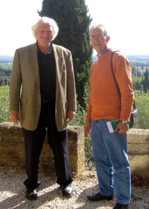 With Jean-Jacques Sabon in sunny Châteauneuf-du-Pape