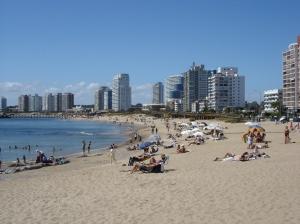 Punta del Este's beautiful beach strip