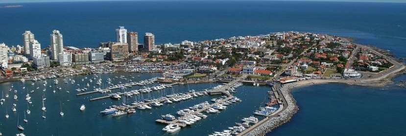 Featured image - aerial view of Punta del Este