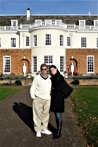 Visiting Cannizaro House with my daughter Megan in 2008
