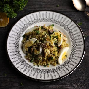 Downton Abbey kedgeree (photo: ITV)