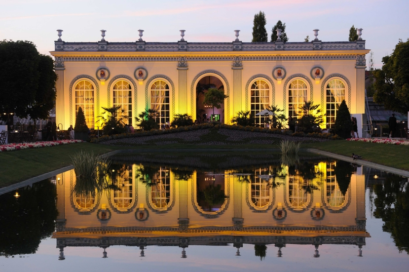 Featured image: The orangerie at Mӧet & Chandon