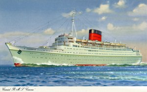 Cunard Line's old Caronia