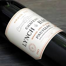 1985 Lynch-Bages label