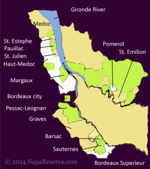 Pauillac Map