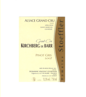 Kirchberg de Barr label