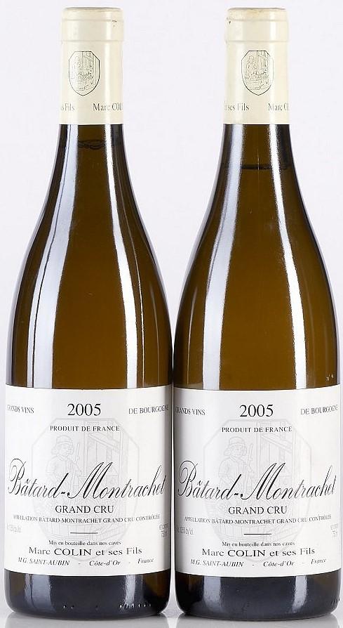 Batard-Montrachet-bottles