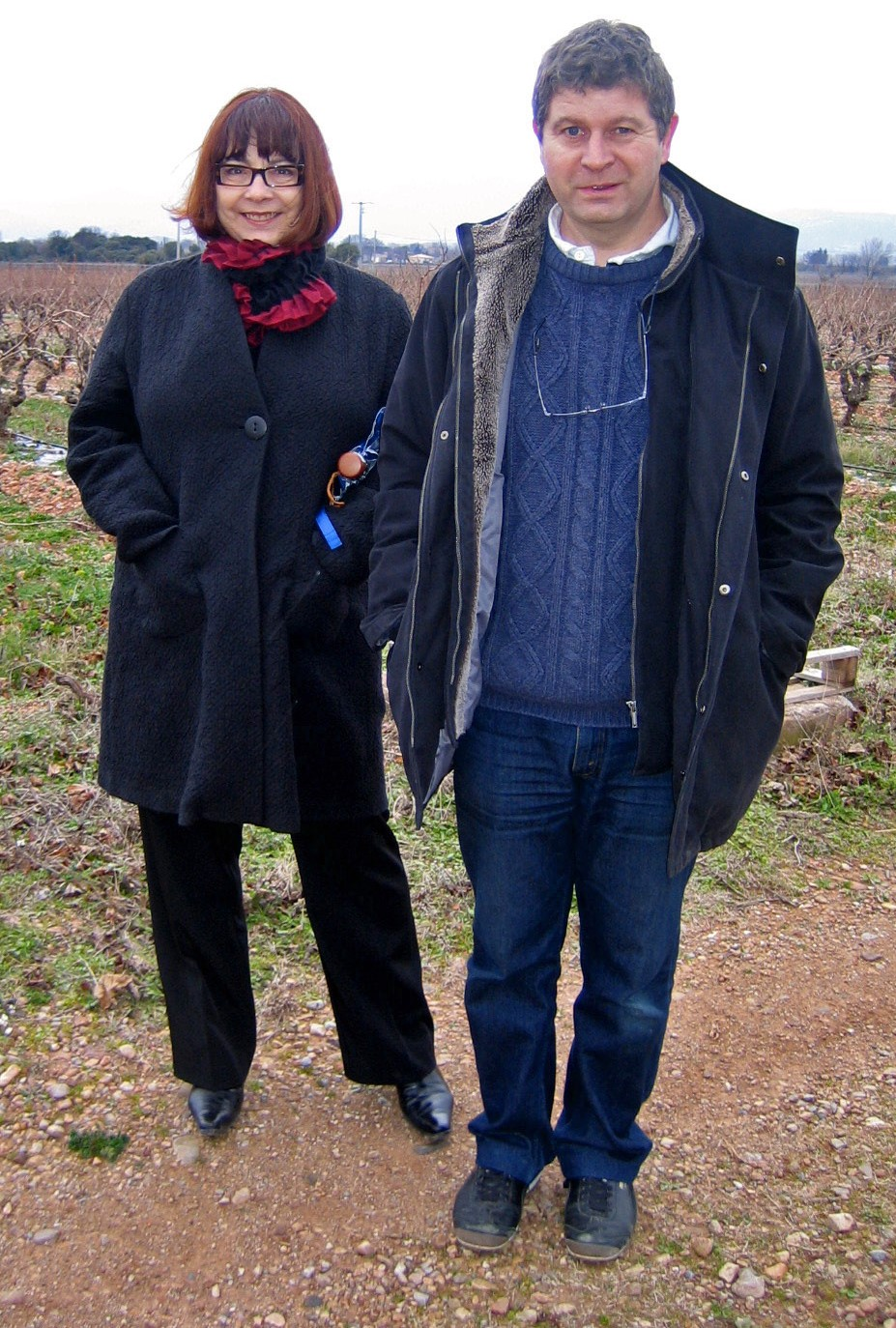 Charles Pacaud and Hélène