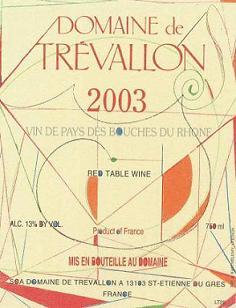 Domaine de Trévallon 2003 Label