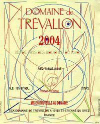 Domaine de Trévallon 2004 Label