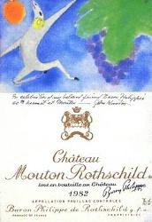 1982 Mouton Label