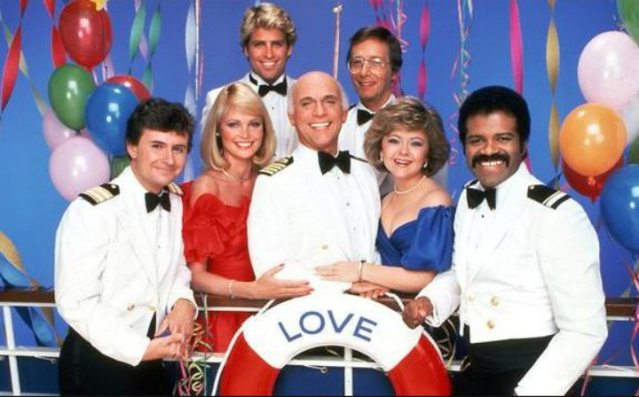 The cast of Love Boat TV series